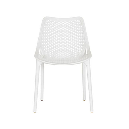 Sebel Dining Chair White, White Patio Dining Chairs